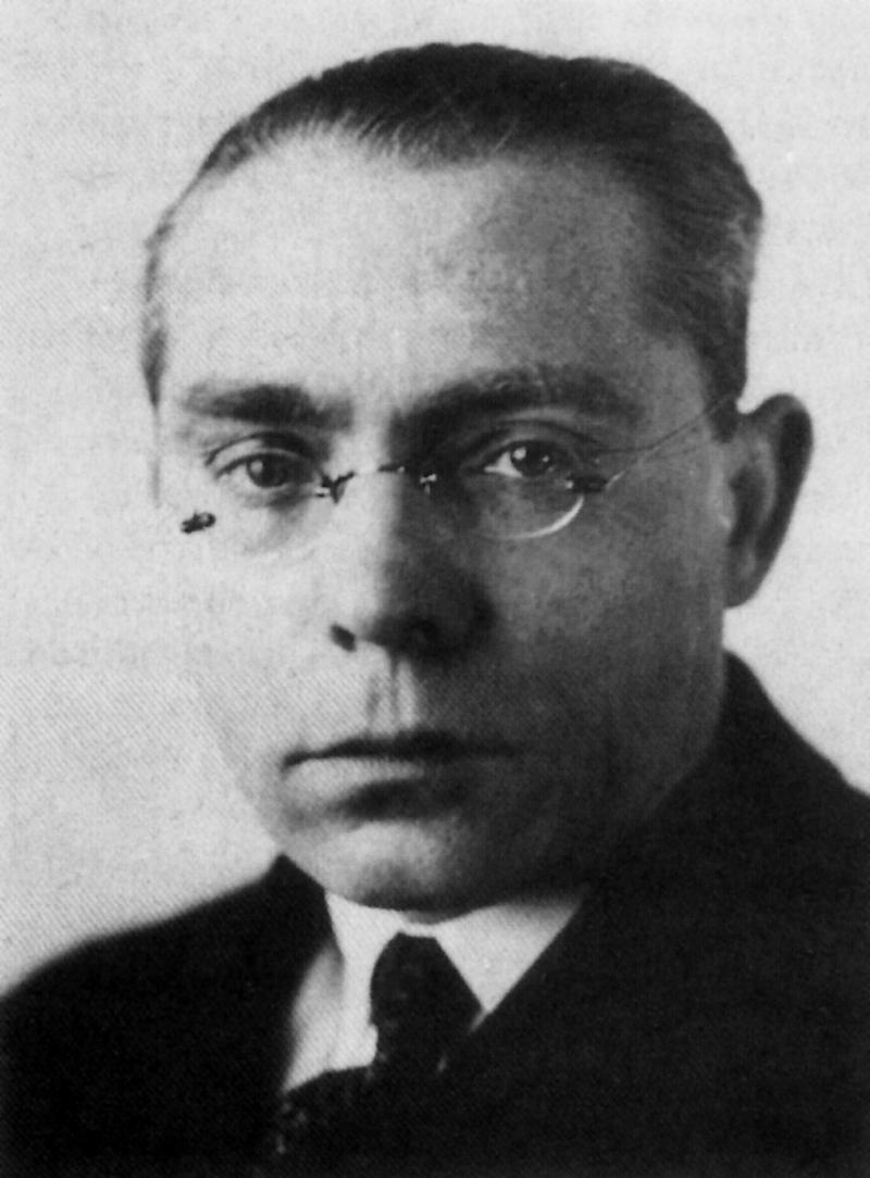 Porträt Ludwig Hilberseimer, Foto: DEPHOT, 1930–35.