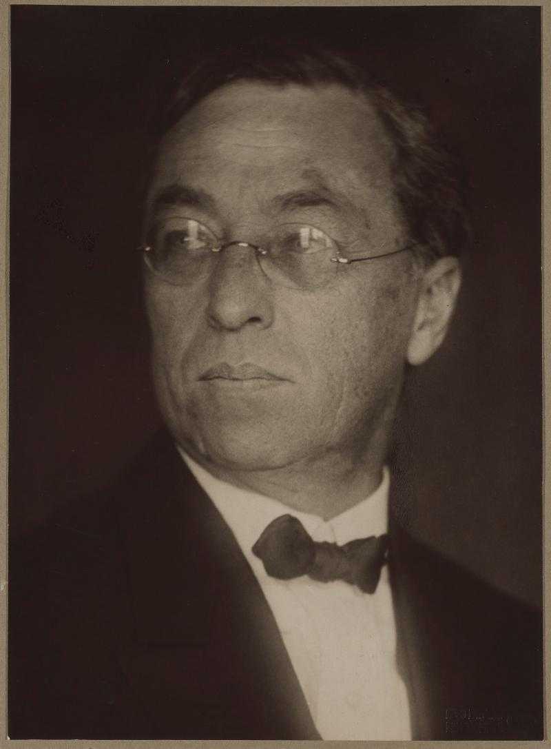 Porträt Wassily Kandinsky, Foto: Hugo Erfurth, 1925-28.