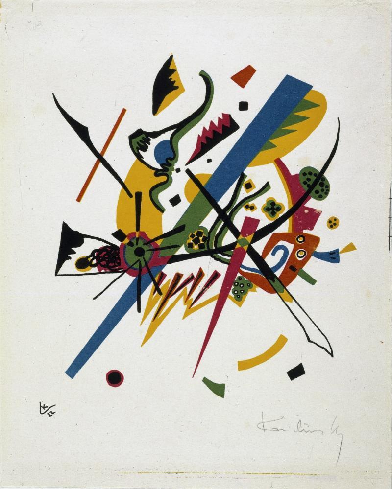 Wassily Kandinsky, Kleine Welten, 1922.