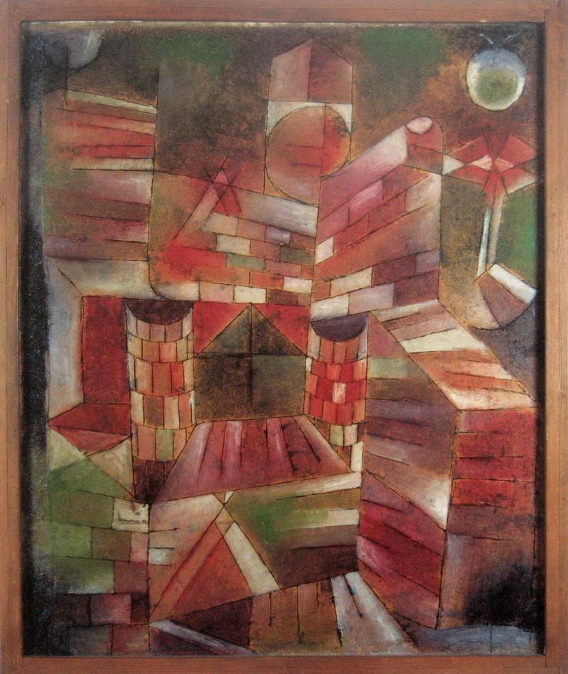 Architecture with Window, Author: Paul Klee, 1919.
