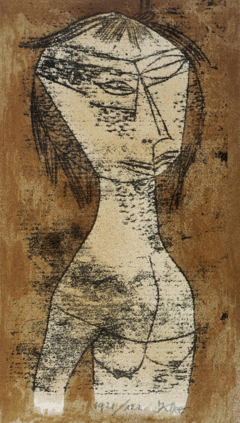 The Saint of Inner Light, Author: Paul Klee, 1921.