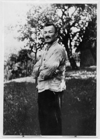 Portrait of Max Krehan, Photo: unknown, 1924.