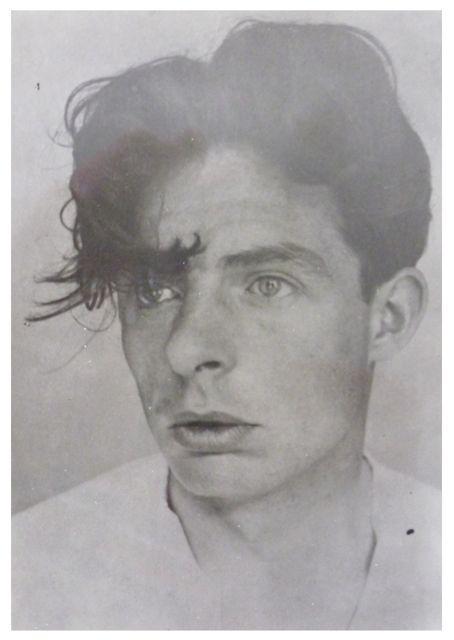 Porträt Fritz Kuhr, Foto: unbekannt, 1920er-Jahre, Reproduktion 1960er-Jahre.