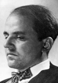 Portrait of Hans Wittwer, Photo: unknown, around 1930.
