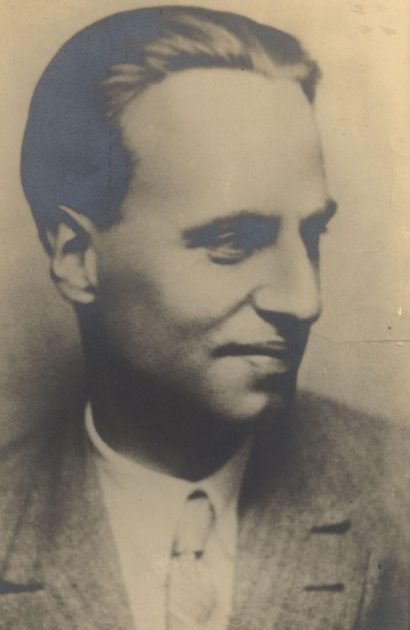 Porträt Mart Stam, Foto: unbekannt, um 1920.