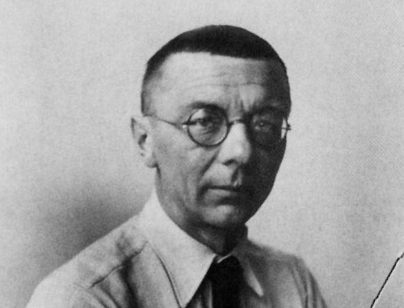 Portrait of Joost Schmidt, Photo: unknown, 1930.