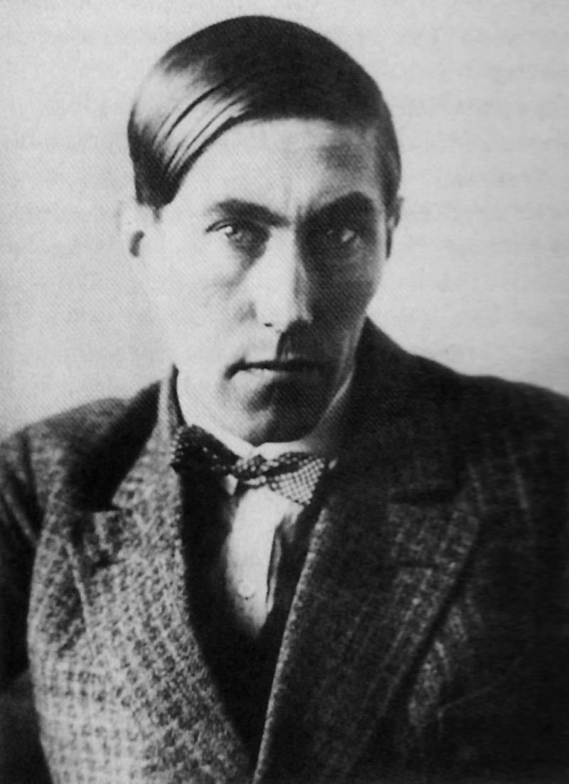 Portrait of Hinnerk Scheper, 'head', Photo: Lucia Moholy, 1927.