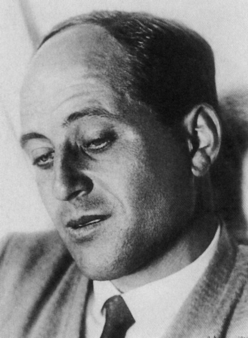 Porträt Walter Peterhans, Foto: Grete Stern, 1927.