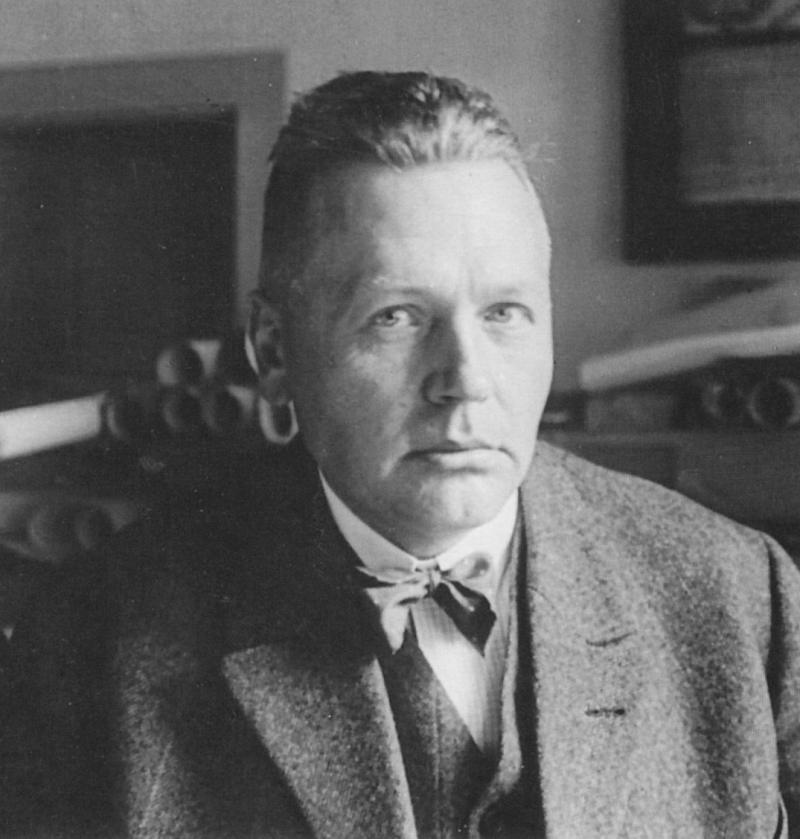 Porträt Adolf Meyer, Foto: unbekannt, 1929.