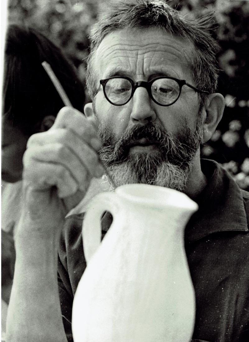Porträt Wilhelm Löber, 1972.