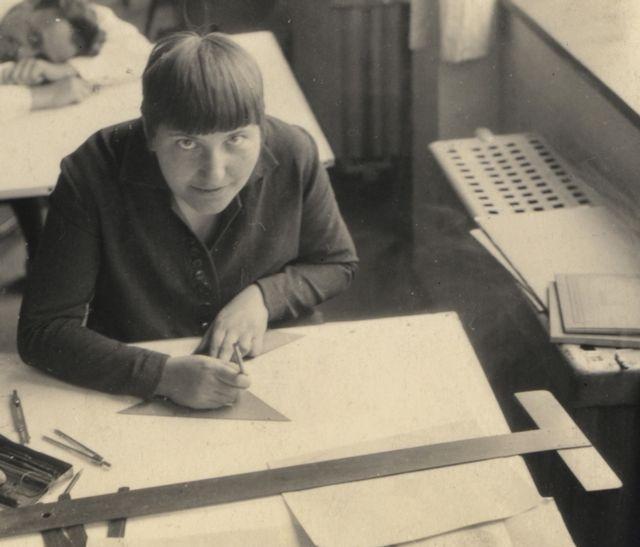 Portrait of Lotte Beese (detail), Photo: unknown, around 1929.