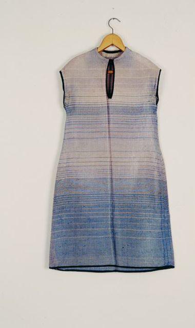 Bauhaus-Kleid, Design und Stoff: Lis Beyer-Volger, 1928.