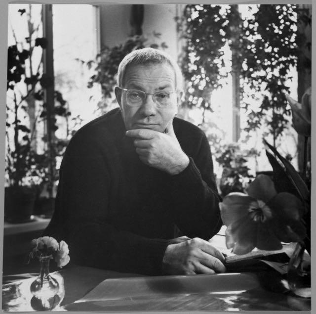 Porträt Max Bill, Foto: Willy Maywald, 1969.