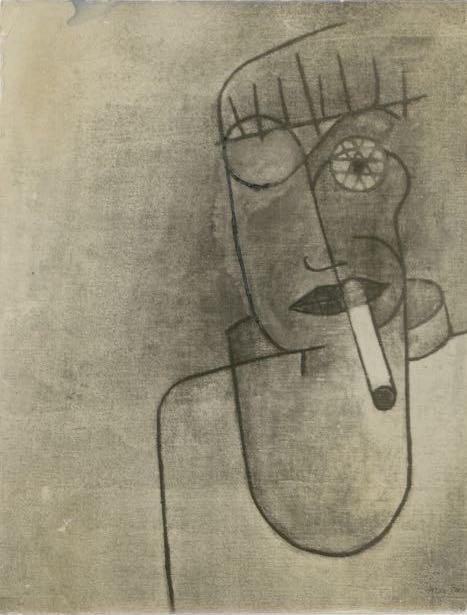 "Max Bill, ""Ich"", 1927."