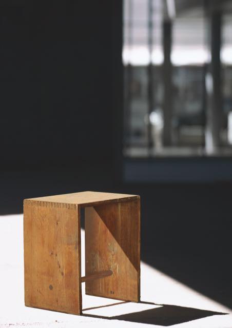 Ulmer Hocker, Design: Max Bill (entworfen und ausgeführt für die Hochschule für Gestaltung Ulm), Entwurf 1954, Neuproduktion 1990er-Jahre.