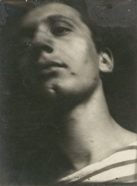 Portrait of Alfredo Bortoluzzi, Photo: Grit Kallin-Fischer, 1927/28.