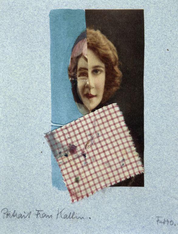 Portrait of Grit Kallin, Author: Alfredo Bortoluzzi, 1929.