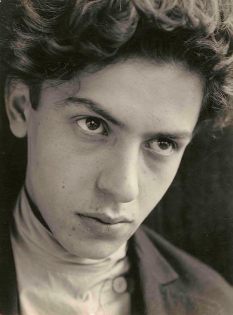 Porträt Isaak Butkow, Foto: Etel Fodor-Mittag, 1929.