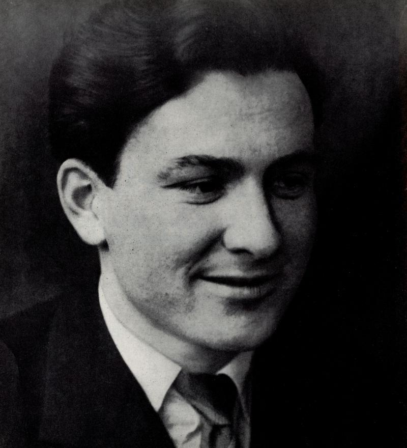 Portrait of Franz Ehrlich, Photo: unknown, around 1932.