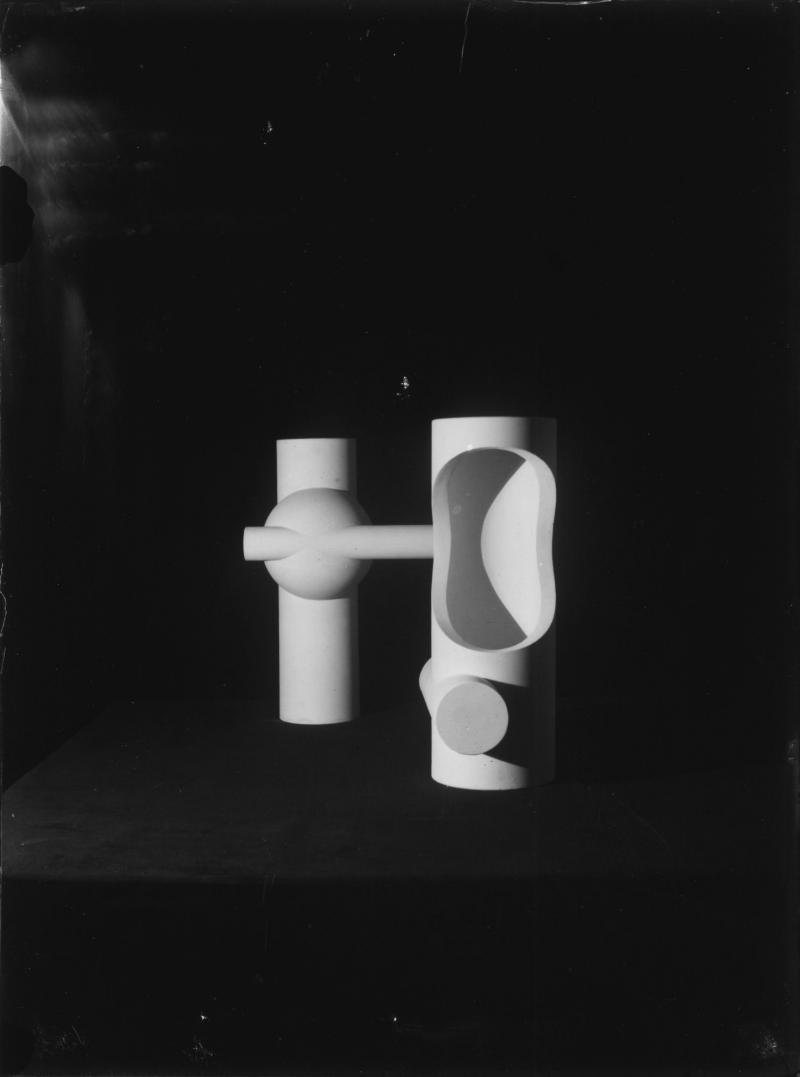 Permeation and Illumination Study (Plastic Arts Workshop, class by Joost Schmidt), Author: Franz Ehrlich, 1929–1930.