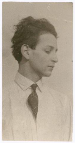 Selbstporträt (?), Foto: Werner David Feist (?), März 1930.