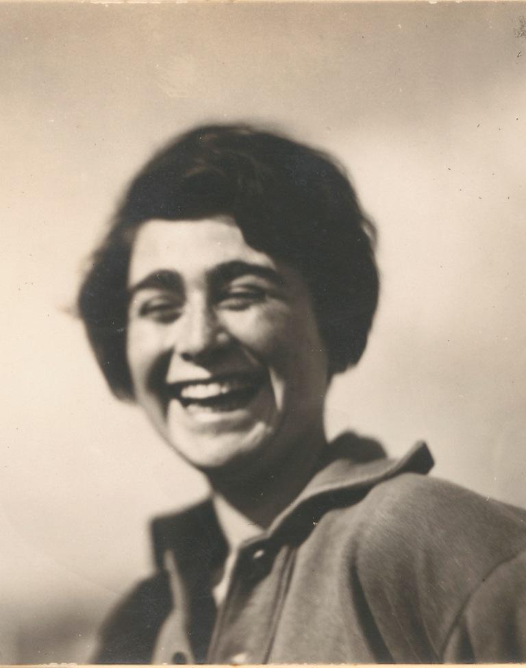Portrait of Etel Fodor-Mittag (detail), Photo: Naftalie Avon (Rubinstein), 1929.