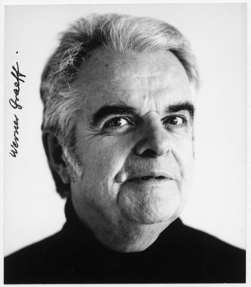 Portrait of Werner Graeff, 1960s.