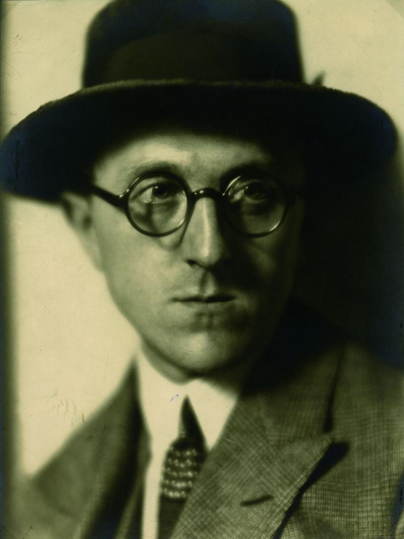 Portrait of Leo Grewenig, Photo: unknown, 1923.