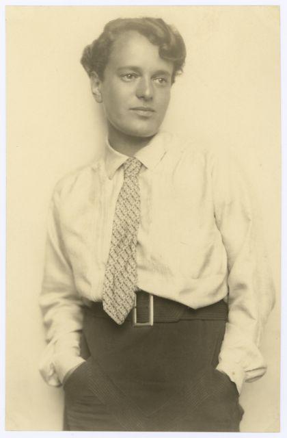 Porträt Margarete Heymann-Loebenstein (später Heymann-Loebenstein-Marks), Foto: unbekannt, um 1925.