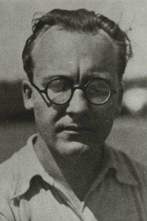 Porträt Hubert Hoffmann, Foto: unbekannt, 1920–1925.