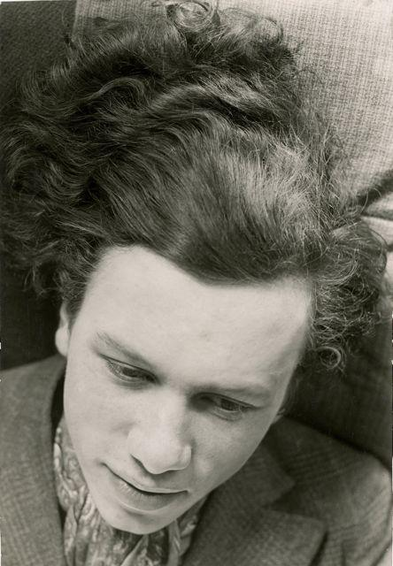 Porträt Hans Thiemann, Foto: Elsa Thiemann, 1929–1931.