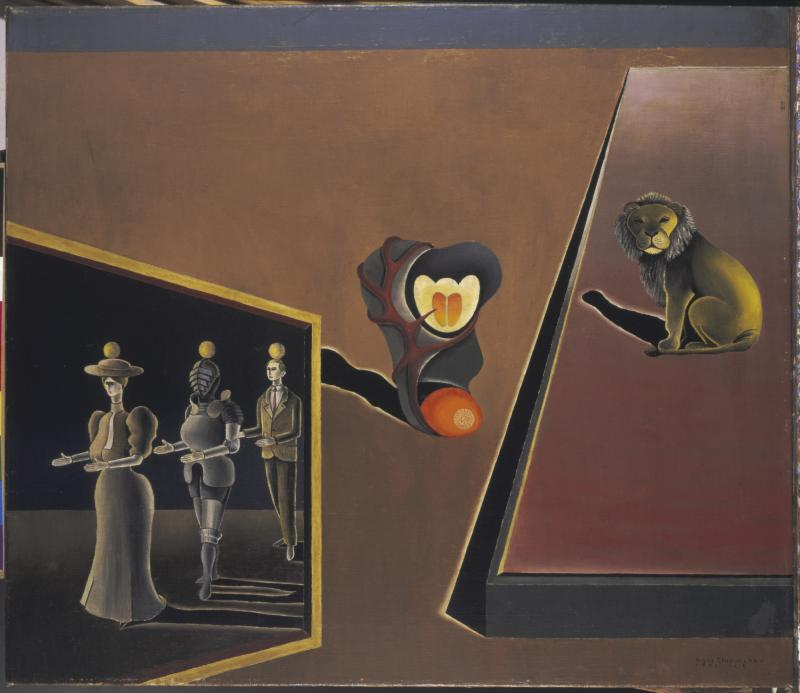 Menagerie, Autor: Hans Thiemann, 1931.