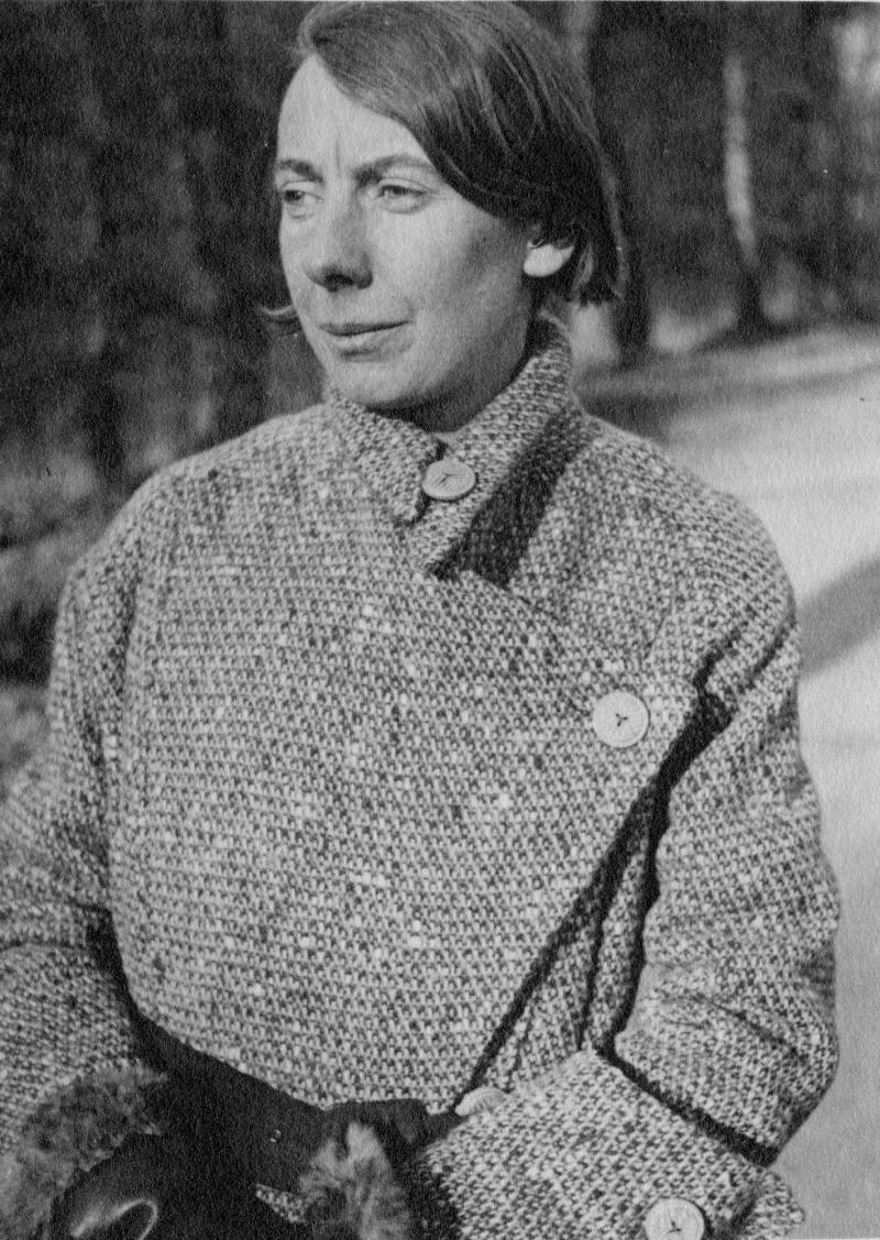 Porträt Söre Popitz, um 1924.