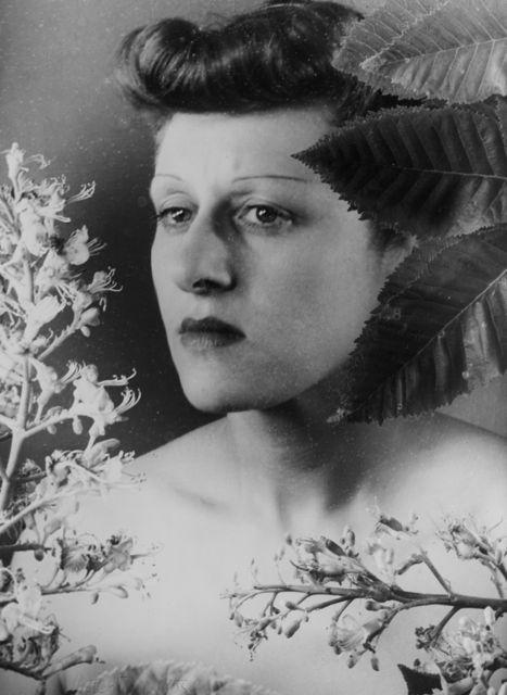 Selbstporträt, Foto: Grete Stern, 1935, Neuvergrößerung 1958.