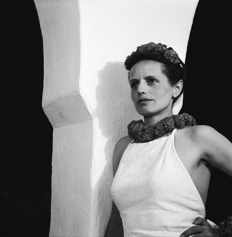 Selbstporträt, Foto: Ré Soupault, Hammamet, 1939.