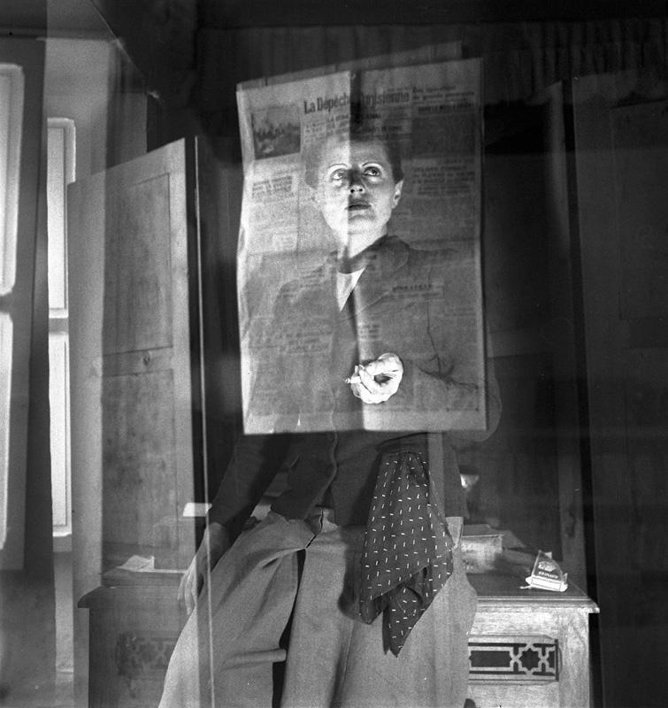 Selbstporträt, Foto: Ré Soupault, Tunis, 1939.
