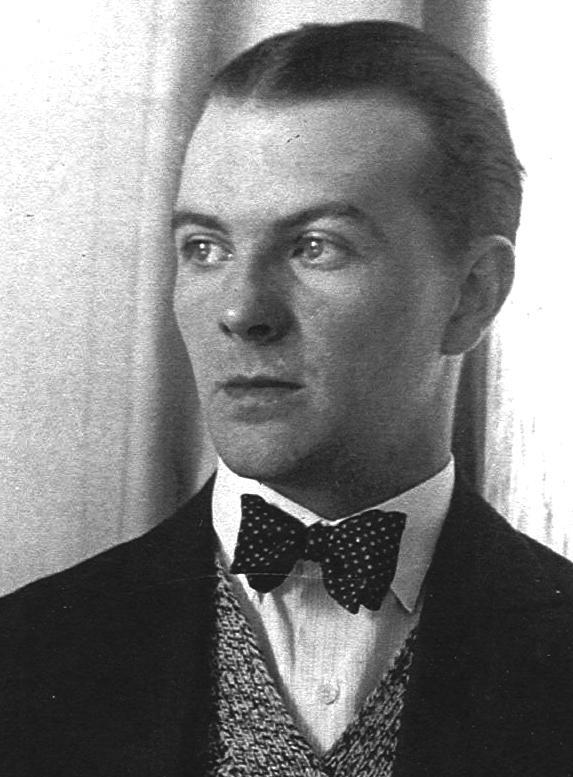 Porträt Richard Paulick, Foto: unbekannt, um 1931.