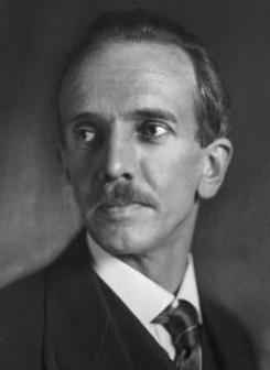 Porträt Otto Bartning, Foto: unbekannt, um 1923.