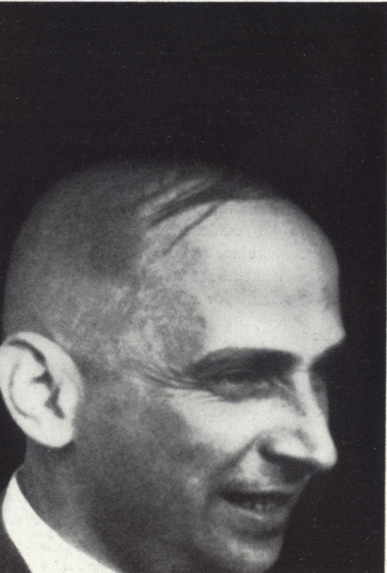 Ernst Kállai, Photo: unknown, in: H. M. Wingler (1962): Das Bauhaus, 1919–1933.