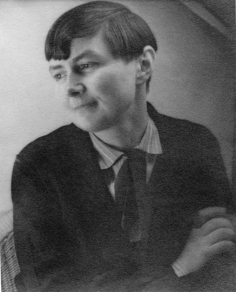 Porträt Benita Koch-Otte, Foto: Heinrich Koch, 1920er-Jahre.