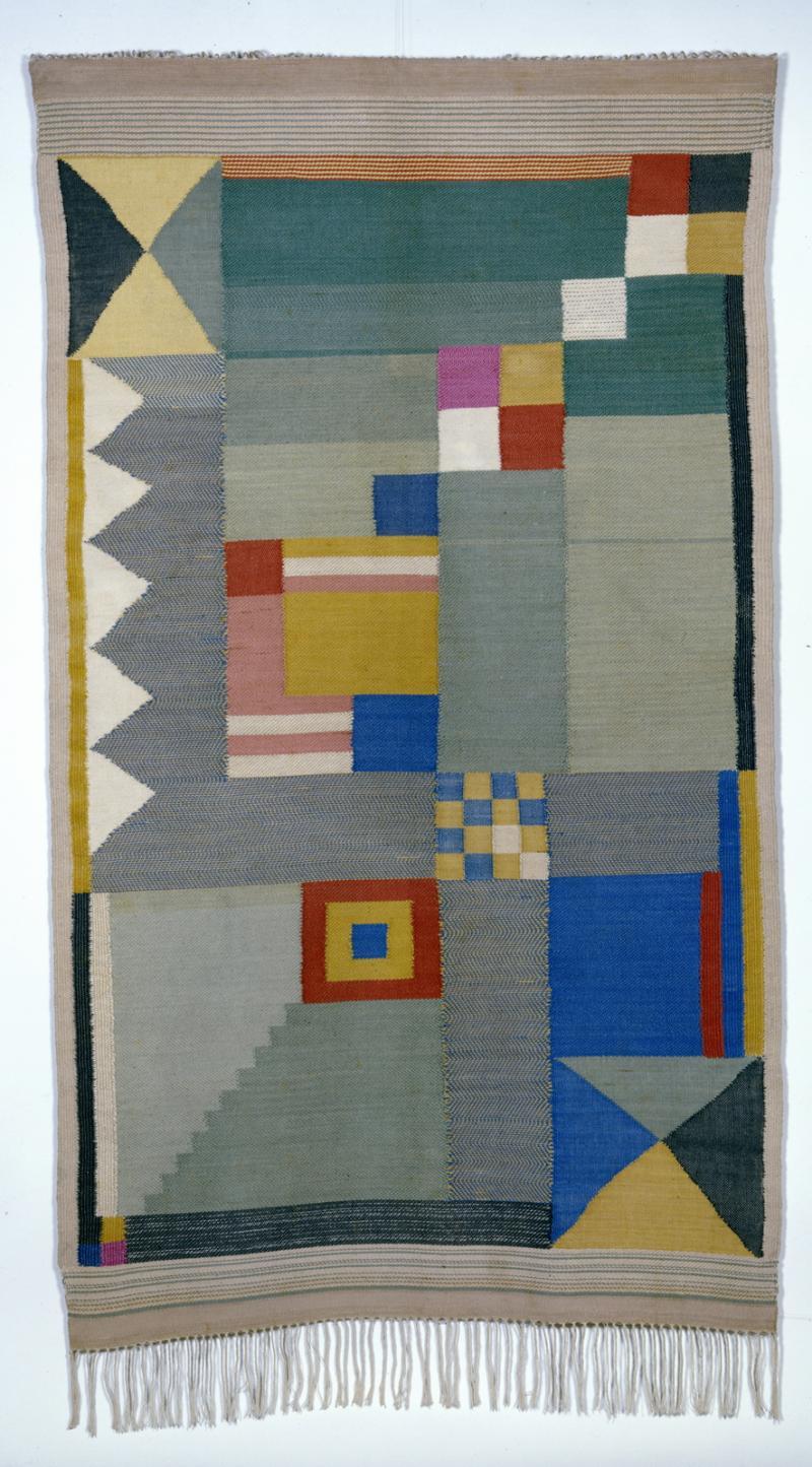 Teppich für ein Kinderzimmer, Design: Benita Koch-Otte, 1923.