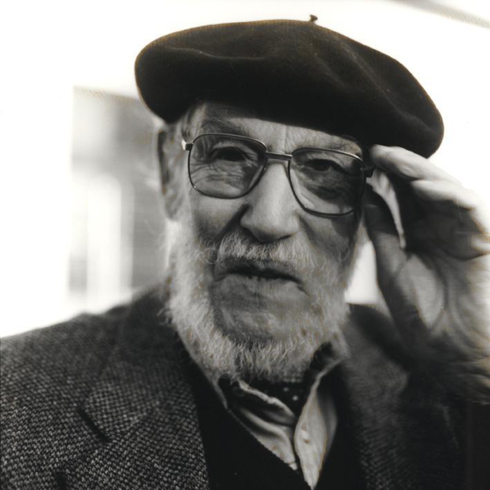 Portrait of Kurt Kranz, Photo: Siegfried Kühl, around 1994.