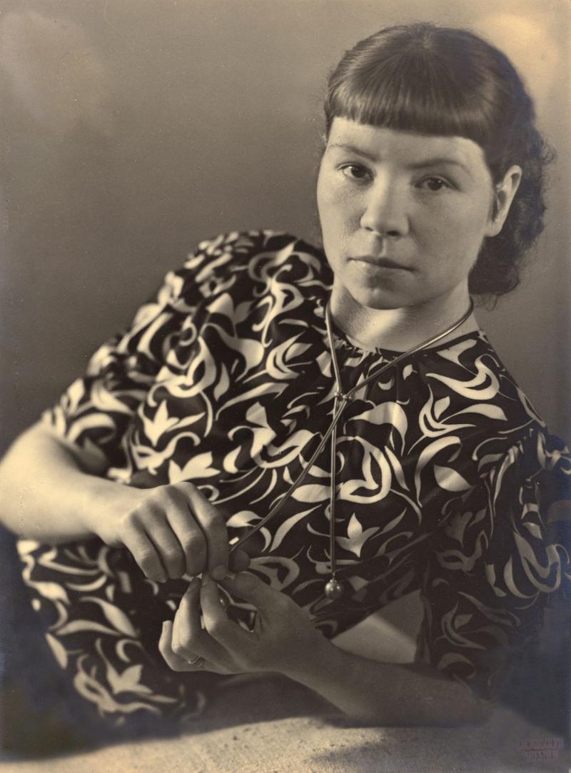 Portrait of Margaret Camilla Leiteritz, Photo: C. H. Rudolph, 1931.