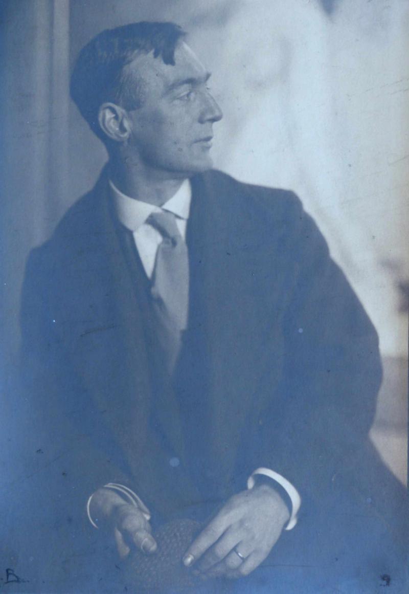 Portrait of Max Nehrling, Photo: unknown, around 1911.