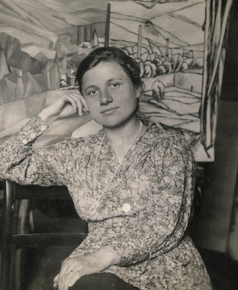 Portrait of Maria Rasch, Photo: unknown, 1920s.