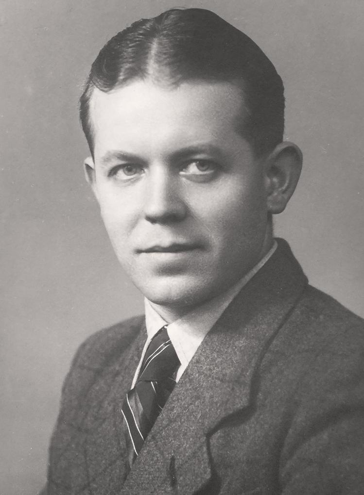Portrait of Friedrich Reimann, Photo: Jacobsen, around 1932.