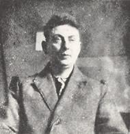 Portrait of Karl Peter Röhl, Photo: unknown, around 1921.
