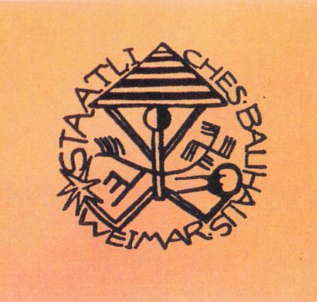 Design for the Bauhaus Signet (Star Manikin), Design: Karl Peter Röhl, 1919.