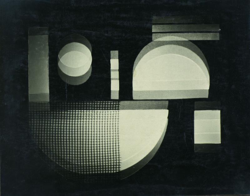 Reflecting Light Games, Author: Kurt Schwerdtfeger, Photo: Fotoatelier Hüttich & Oemler, Weimar, 1922–1923.