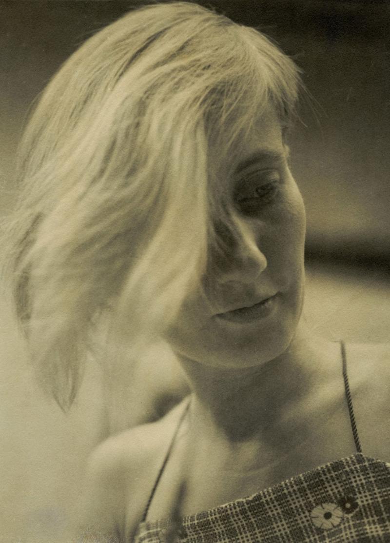 Portrait of Ricarda Schwerin, Photo: Etel Fodor-Mittag, 1930.